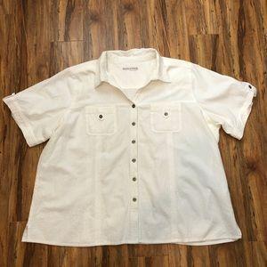Cotton Button Down Top